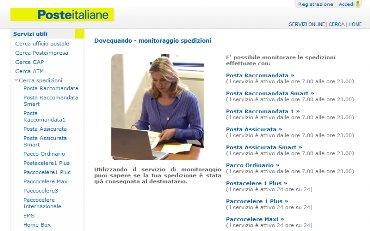 DOVEQUANDO POSTE ITALIANE